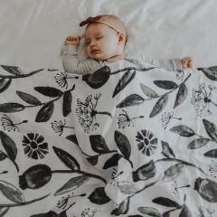 Pop Ya Tot - Organic Swaddle - In The Meadow