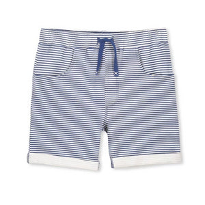 Milky - Blue Stripe Shorts