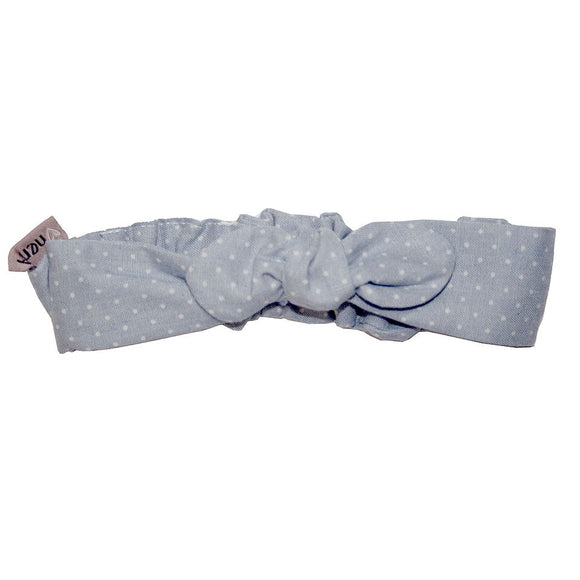 Love Henry - Headband - Chambray Spot