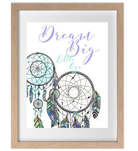 Ink & Ivy - A4 Print - Dream Big