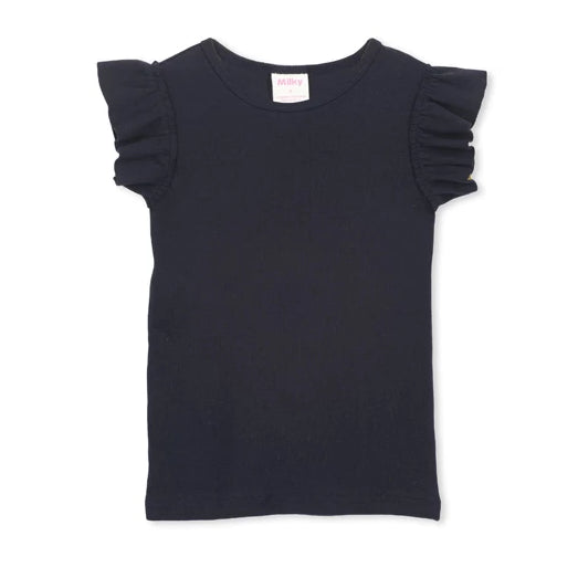 Milky - Girls - Basic Tee - Navy