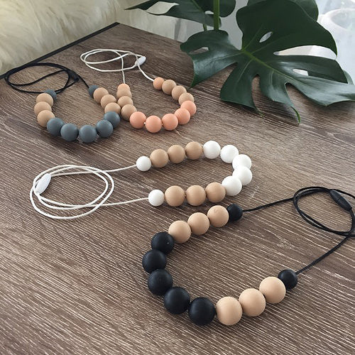 Naturebubz - Breathe Silicone Necklace - 5 Colours