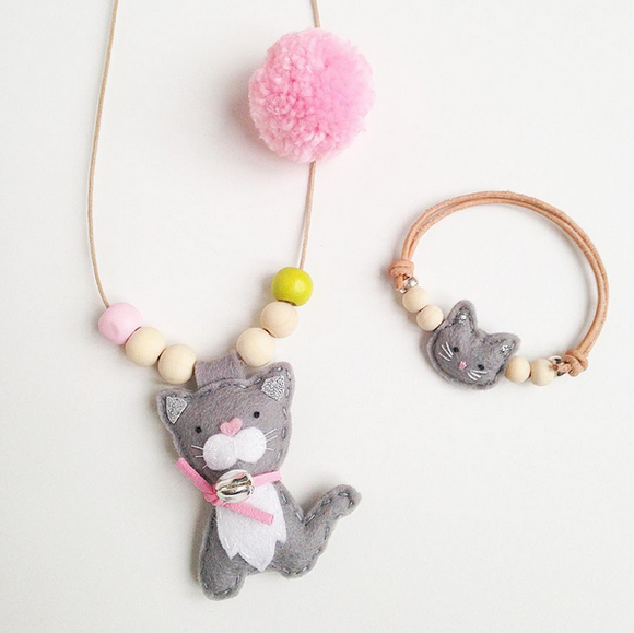 Cherished Kitty Necklaces & Bracelets