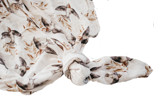 Piper Bug - Bamboo Muslin Swaddle Blanket - Shelley