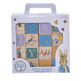 Beatrix Potter - Peter Rabbit Wooden Learning Blocks
