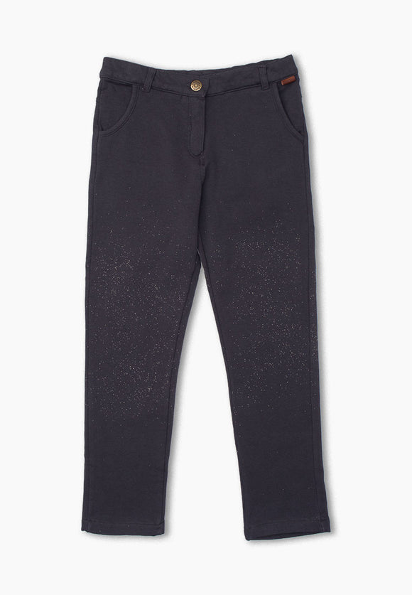 Boboli - Glitter Jeggings - Charcoal