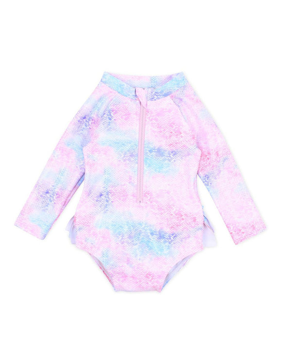 Bebe - Swimwear - Luna Sunsuit with Removable Aqua Nappy