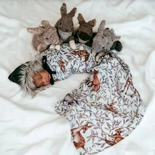 Muslin Organic Swaddle - Creatures of the Woods