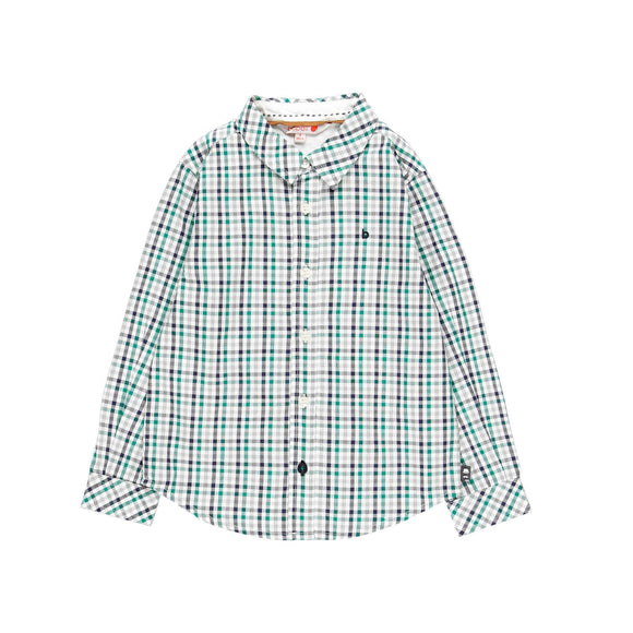 Boboli - Green Check Shirt