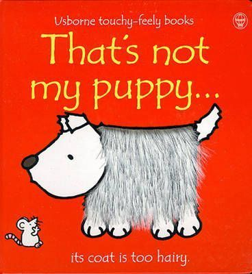 That's Not My Puppy - Touch & Feel Board Book