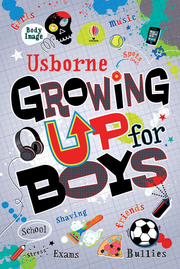 Usborne - Growing Up For Boys
