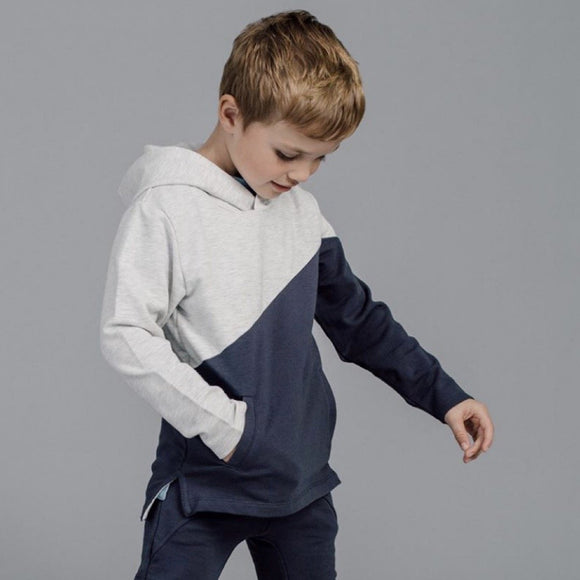 Miles Baby - Colour Block Hoody