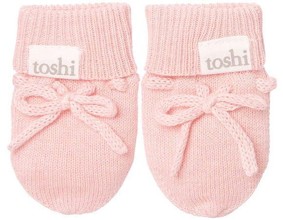 Toshi Baby Mittens - Organic Marley - Cashmere