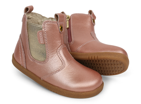 Bobux - I Walk - Jodphur Boot - Rose Gold