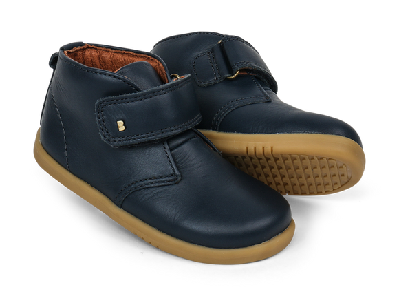 Bobux - I Walk - Desert Boot - Navy