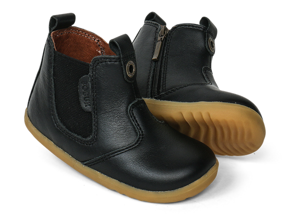 Bobux - Step Up - Jodphur Boot - Black