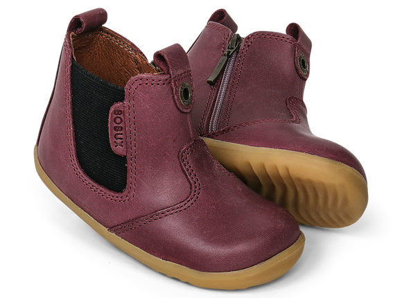 Bobux - Step Up - Jodphur Boot - Plum