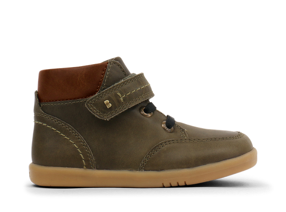 Bobux - I Walk - Timber Boot - Olive