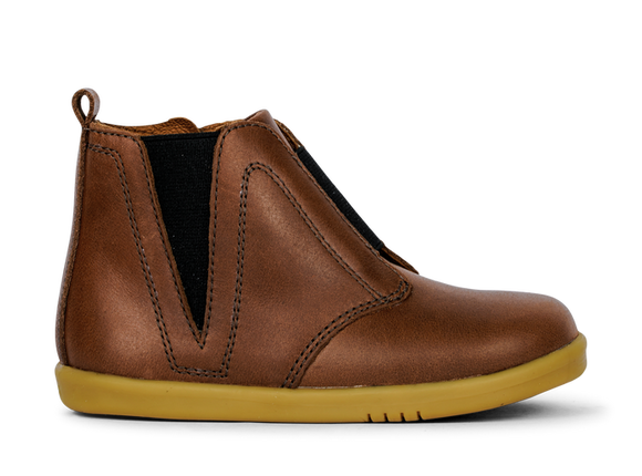 Bobux - I Walk - Signet Boot - Toffee