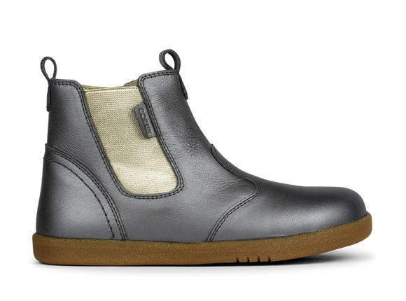 Bobux - Kid+ - Jodphur Boot - Charcoal Shimmer