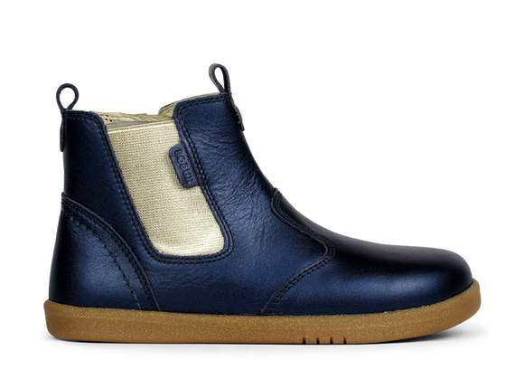 Bobux - Kid+ - Jodphur Boot - Navy Shimmer