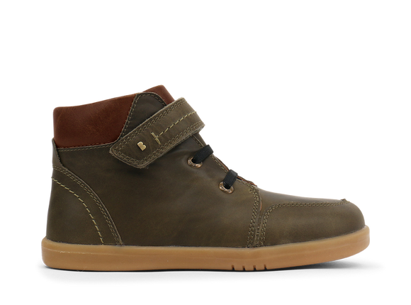 Bobux - Kid+ - Timber Boot - Olive