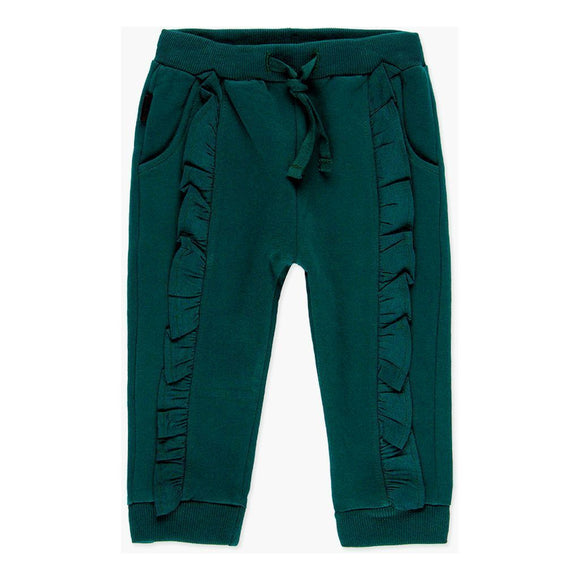 Boboli - Emerald Fleecy Frill Detailed Trackies