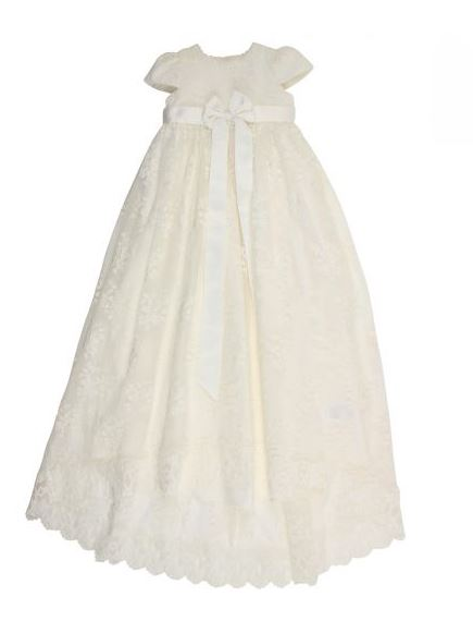 Bebe -  HI LOW CHRISTENING DRESS