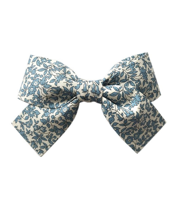 Pretty Wild Kids - Belle Big Bow Clip - Chamomile