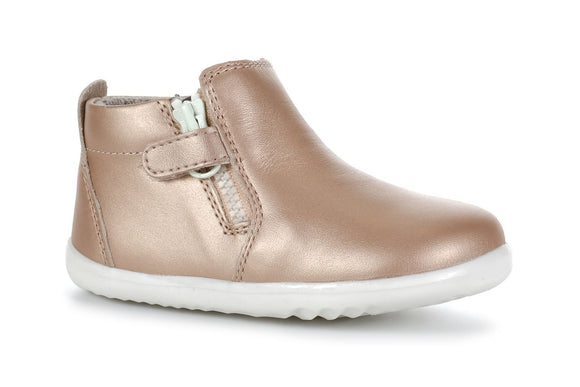 Bobux - Step Up - Tasman Boot - Rose Gold