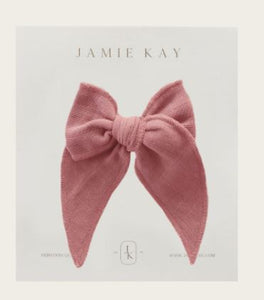 Jamie Kay - Flourish - Organic Cotton Muslin Bow - Prague