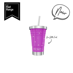 MontiiCo - Mini Smoothie Cup - Glitter Magenta