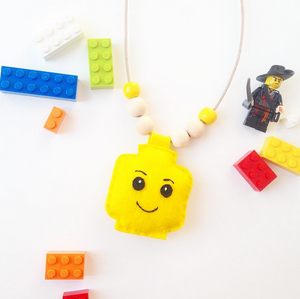 Cherished Lego Necklace