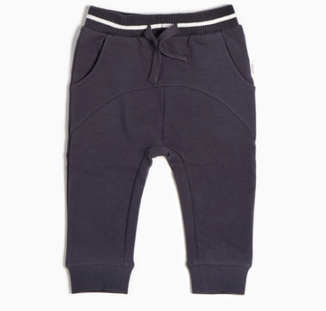 Miles Baby - Navy Jersey Joggers