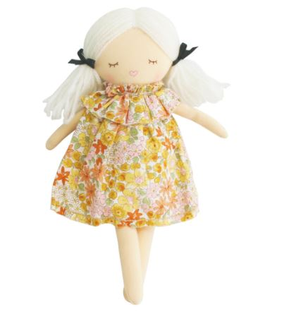 Alimrose - Mini Matilda Cloth Doll - Asleep/Awake Sweet Marigold