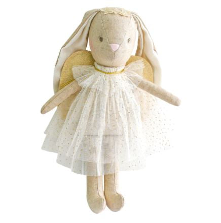 Alimrose - Mini Angel Bunny - Ivory