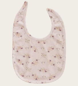 Jamie Kay - Whimsy Collection - Bib - Sweet Pea Floral