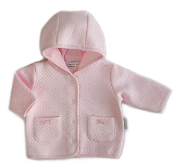 Beanstork - Quilted Bell Jacket - Pink
