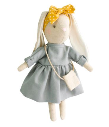 Alimrose - Mini Sofia Bunny - Grey