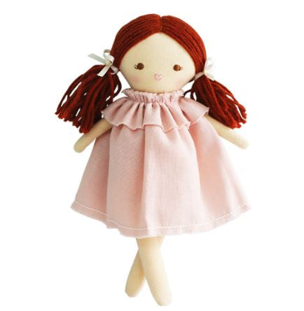 Alimrose - Mini Matilda Cloth Doll - Pink