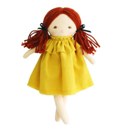 Alimrose - Mini Matilda Cloth Doll - Butterscotch