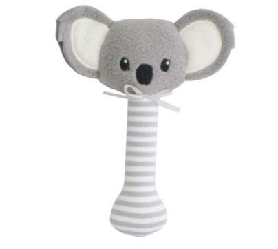 Alimrose - Stick Rattle - Koala - Grey