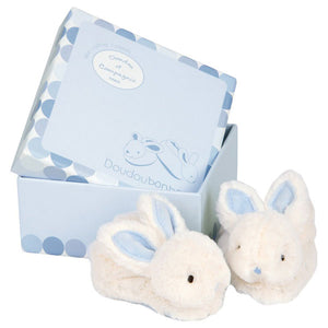 Histoire d'Ours - Bunny Booties - Blue