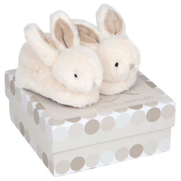 Histoire d'Ours - Bunny Booties - Latte