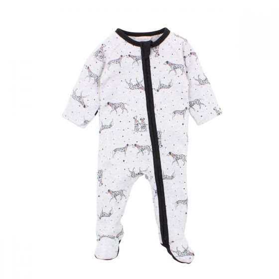 Fox & Finch - Spot Zip Romper - Spot Dog