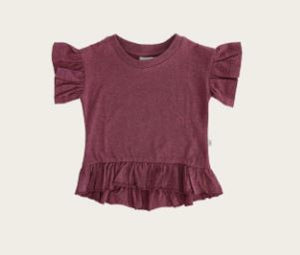 Jamie Kay - Flourish - Eden Top - Pink Raspberry