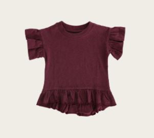 Jamie Kay - Flourish - Eden Top - Plum