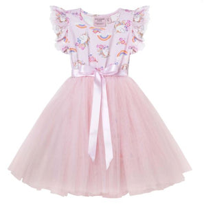 Designer Kidz - Enchanted Unicorn S/S Tutu Dress