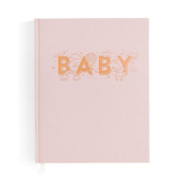 Fox & Fallow -Blush Baby Book