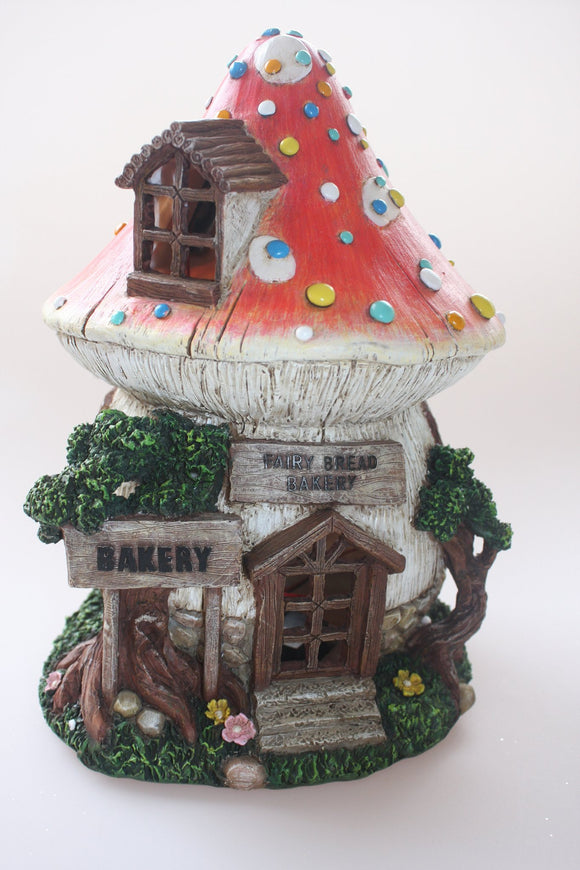 Solar Power Fairy House - Fairy Bread Bakery